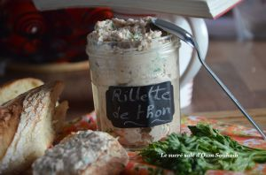 Recette Rillettes de thon à la crème fraiche