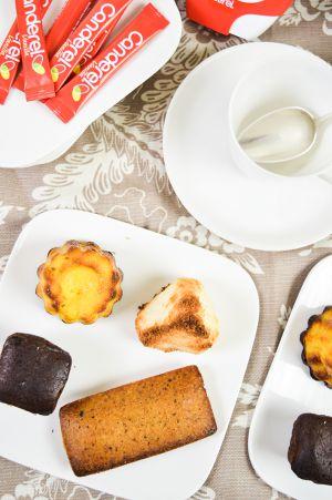 Recette Café gourmand et léger avec Canderel