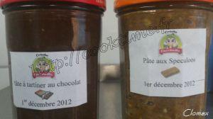 Recette Pate de Speculoos & Pate à tartiner au chocolat