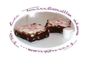 Recette Brownies Noix et Chamallows
