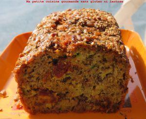 Recette Cake salé sans gluten ni lactose