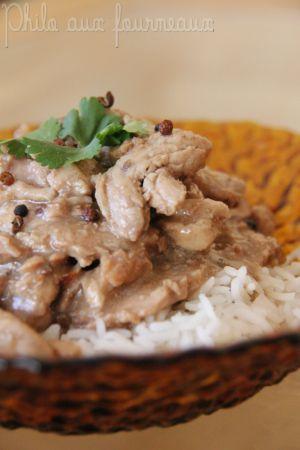 Recette Filet mignon de porc au poivre de Sichuan
