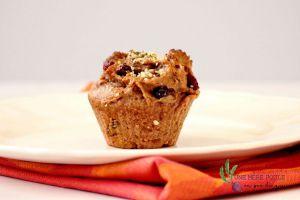 Recette Muffins végétaliens aux pommes et noix sans sucre ajouté