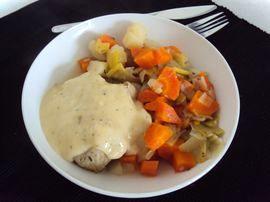 Recette Potée au chou, carottes, navets et panais