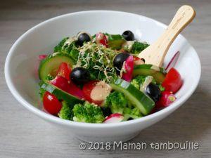 Recette Salade de brocoli