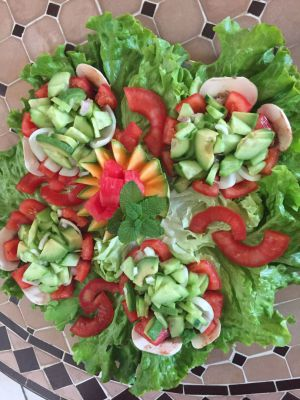 Recette Salade Avocat-concombre