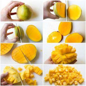 Recette Pratique: comment couper une mangue facilement?