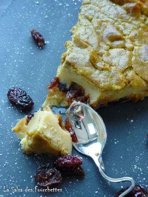 Recette Cuajada Pistaches Cranberries
