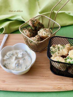 Recette Poisson pané au persil et ail, cuisson au four