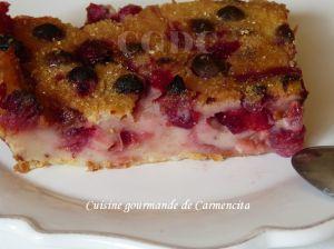 Recette Cuajada aux cranberries et Limoncello