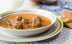 Recette Chorba, Harira, Soupes, Veloutés… des Amis de Sherazade