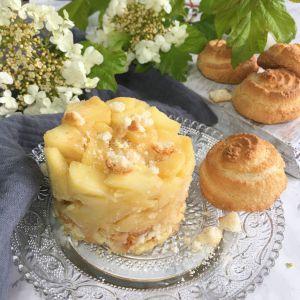 Recette Pommes caramélisées aux macarons