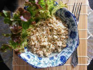 Recette Riz frit aux oignons