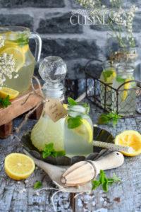 Recette Citronnade ou limonade au citron maison