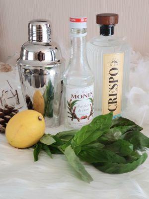Recette Cocktail Gin Basil Smash