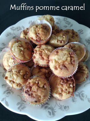 Recette Muffins pomme caramel