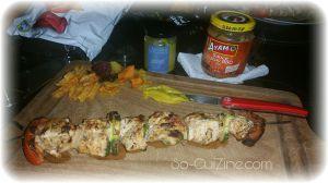 Recette Satay au poulet Ayam - Brochettes de poulet