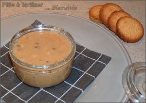 Recette Pâte à tartiner biscuitée