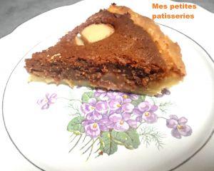 Recette Tarte noisettine chocolat poire
