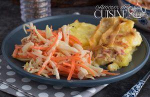 Recette Coleslaw: salade de chou facile