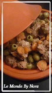 Recette Tajine aux olives