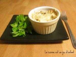 Recette Gratin de risotto