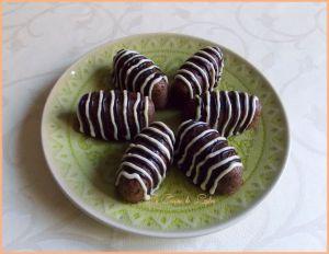 Recette Navettes au quinoa fourrées cacahuètes-chia