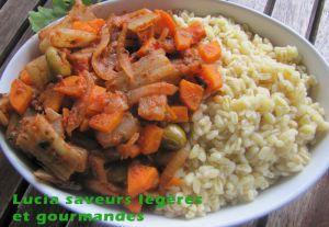 Recette Cotes de blette aux anchois et aux carottes
