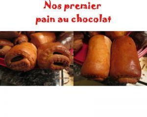 Recette Pains au chocolat avec la pate à pain suisses