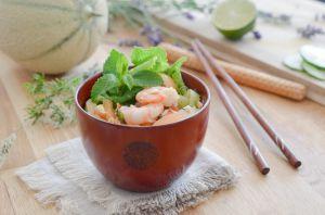 Recette Salade de Melon à la Thaïe