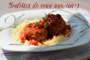 Recette Boulettes de veau aux épices