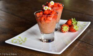 Recette Des verrines légères et de saison à la rhubarbe et aux fraises (et recyclage du citron du Kéfir pour les amateurs ;)