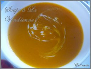 Recette Soupe de citrouille à la vendéenne