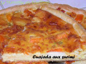 Recette Cuajada aux surimis