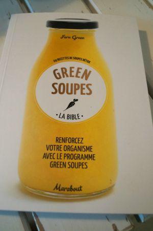 Recette Soupes Détox ou Green Soupes