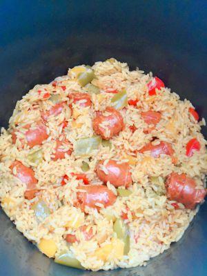 Recette Riz au chorizo – recette au cookeo