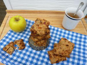 Recette Biscuits pomme - amandes / sans sucre ajouté