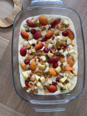 Recette Gâteau au Fromage Blanc aux Fruits d'été