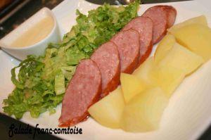 Recette Salade franc-comtoise