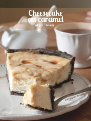 Recette Cheesecake au caramel beurre et fleur de sel (et oréo)