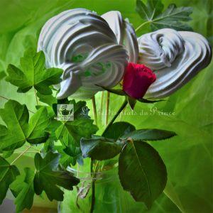 Recette Bouquet de meringues pour la fête des mères