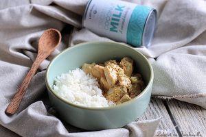 Recette Curry de saumon au lait de coco