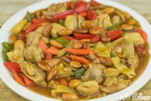 Recette Poulet aux amandes (cuisine chinoise)