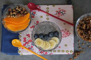 Recette Pudding de chia pour un petit déj . sans gluten