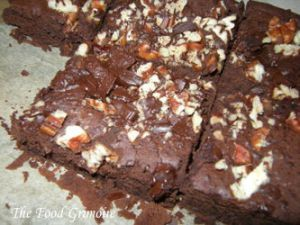 Recette Brownies haricots noirs