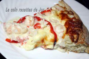 Recette Ma pizza aux fruits de mer