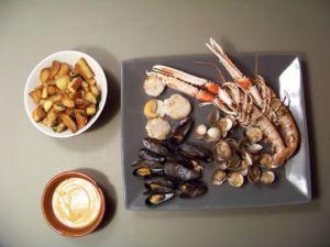 Recette Parillada de fruits de mer