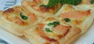 Recette Mini quiches au saumon