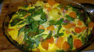 Recette Frittata de légumes