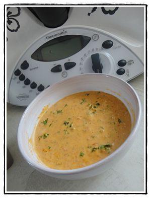 Recette Pâtes à la sauce chorizo version avec Thermomix